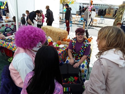 Events in Blaine, Washington gather many people of all ages