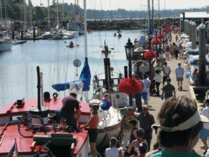 Blaine, Washington Harbor during Drayton Harbor Days