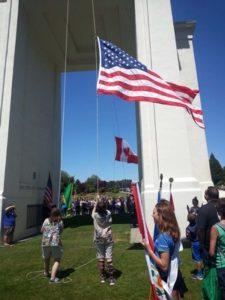Hands Across the Border of Blaine, Washington