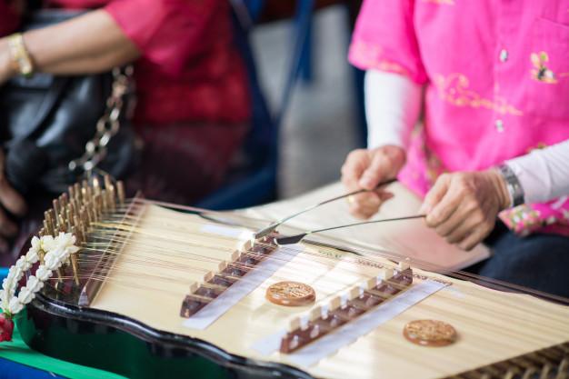 Musical Instruments at Blaine, Washington during Drayton Harbor Music Festival