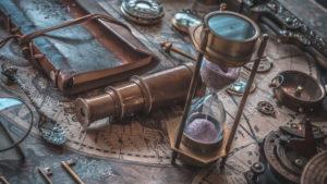 Vintage Hourglass in Blaine, Washington