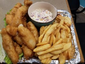 fish and chips in Blaine, WAshington
