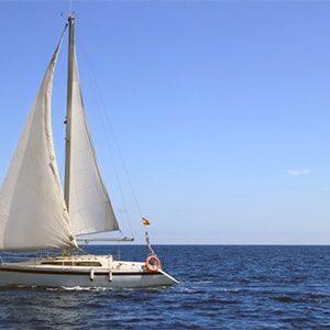 Sailing in Blaine, Washington