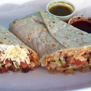 Best burritos at bordertown grill in blaine
