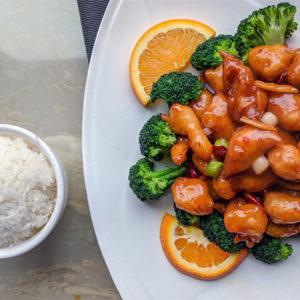 Chinese food at the Sea