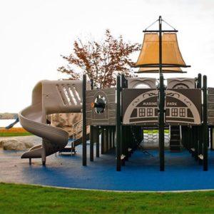 Marine park playground by jorgensen pier