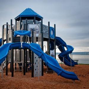 Marine Park blue playground