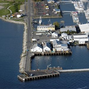 Jorgensen Pier in blaine, Whatcom County
