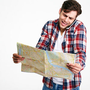 young man navigating in blaine washington