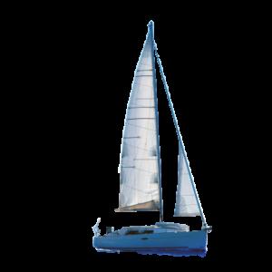 Sail in Blaine, Washington seas