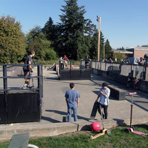 Blaine's Skate Park in Blaine, Washington