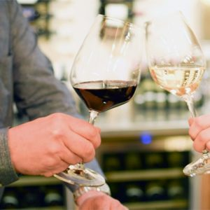 drink wine at the vault in the city of Blaine