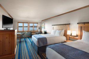waterview-double-queen- bed in Blaine's Semiahmoo Resort