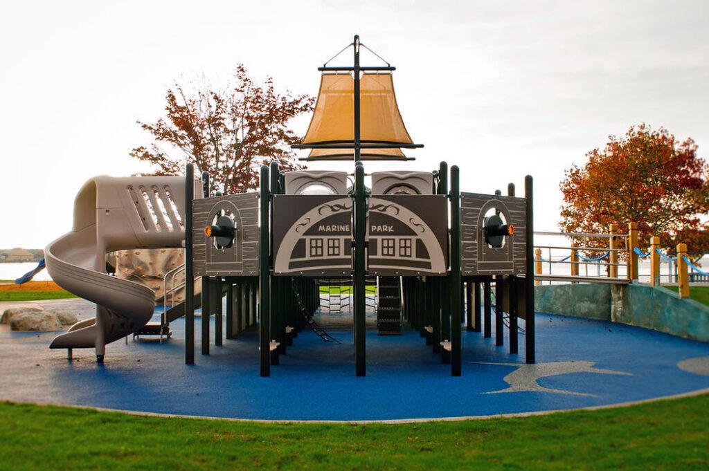 Marine Park Playground Pirate Ship
