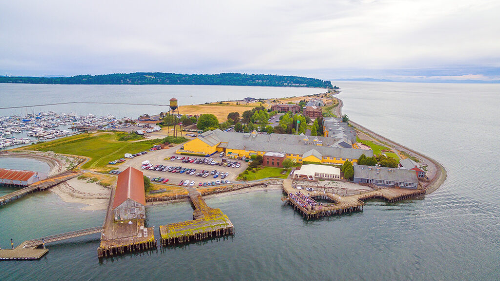 Semiahmoo Resort on Blaine, Washington
