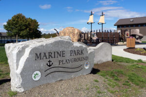 Marine Park Playground at Blaine, WA