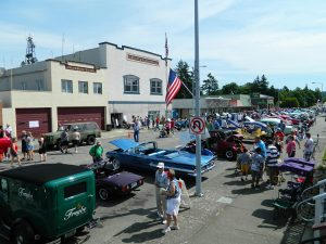 4th of July Car Show downtown Blaine