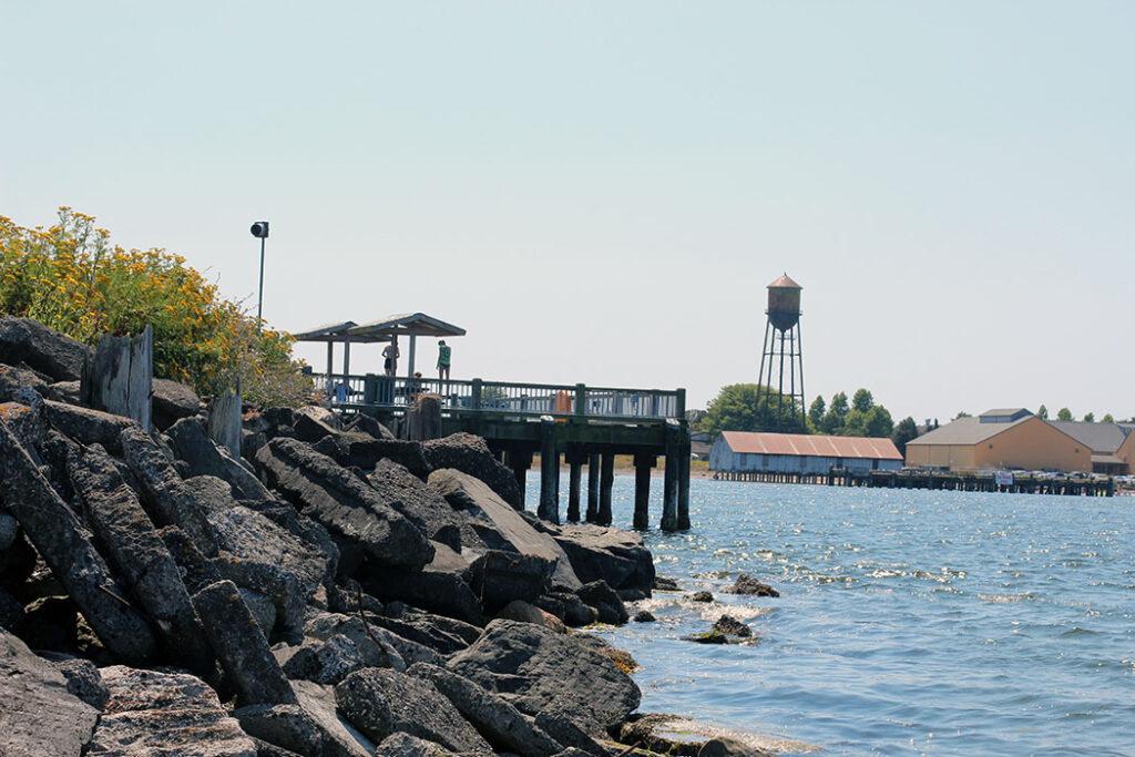 Jorgensen Pier at Blaine By the Sea