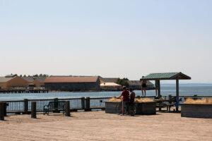 Jorgensen Pier day in the sun
