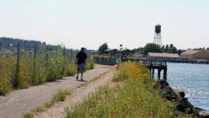trails in Washington to Jorgensen Pier