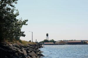 Jorgensen Park by the ocean in Blaine