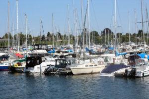 Sailboats in Blaine, WAshington