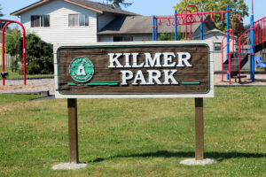 Kilmer Park signage in Blaine