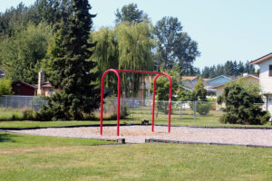 Kilmer Park swings in blaine