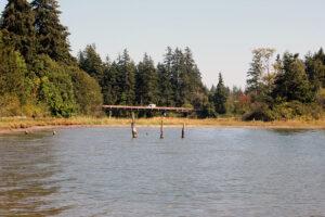 Dakota Creek Kayak Launch driving cars by