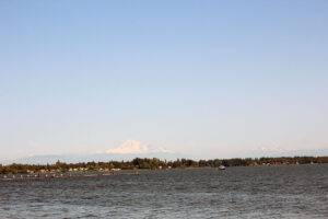 Mt. Baker view from Semiahmoo State Park