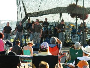 events - US army Rock Band on G Street Plaza