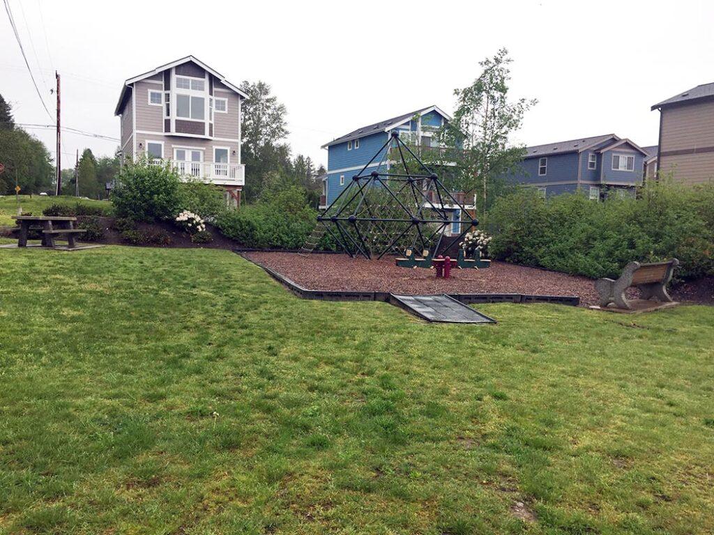 kids park playground in Blaine, Washington