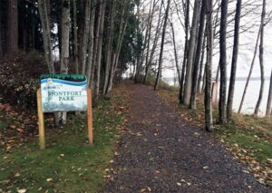 Montfort Park in the city of Blaine, Washington