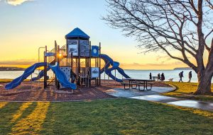 Blaine Marine Park Playground in Blaine WA