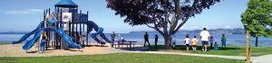Blaine Marine Park Playground by Semiahmoo Bay
