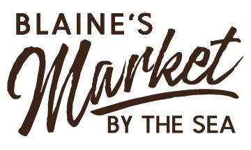 Blaine's Market By The Sea Logo