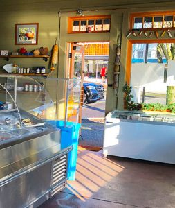 Kaisacole Seafood Market in downtown Blaine WA