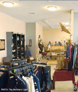 Wildbird Boutique Charity in Downtown Blaine WA