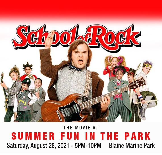 Summer Fun in the Park 2021 - Blaine WA