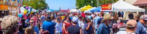 Blaine WA Events - Summer Street Fairs