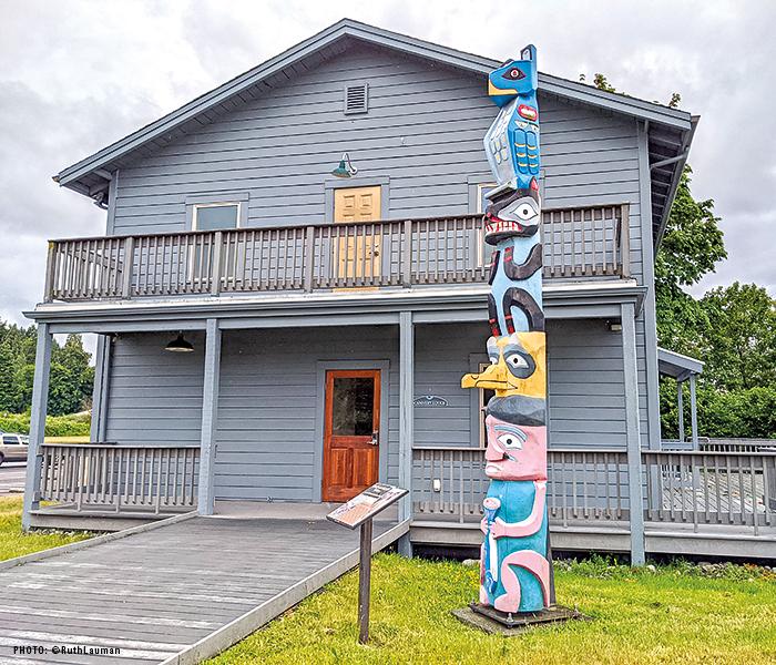 Alaska packers Association Cannery Lodge & Office