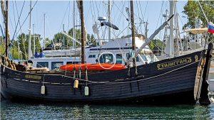 Pilgrim Wooden Ship Visit to Blaine WA
