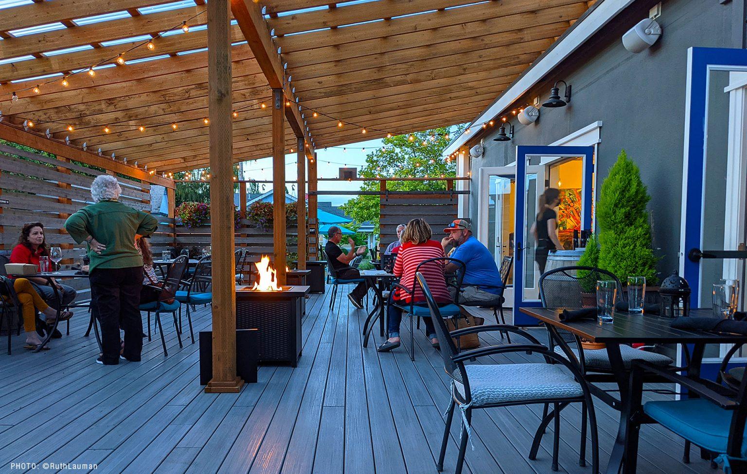 The Vault Wine Bar Downtown Blaine WA