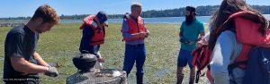Rick Steves with Drayton Harbor Oyster Company Blaine WA