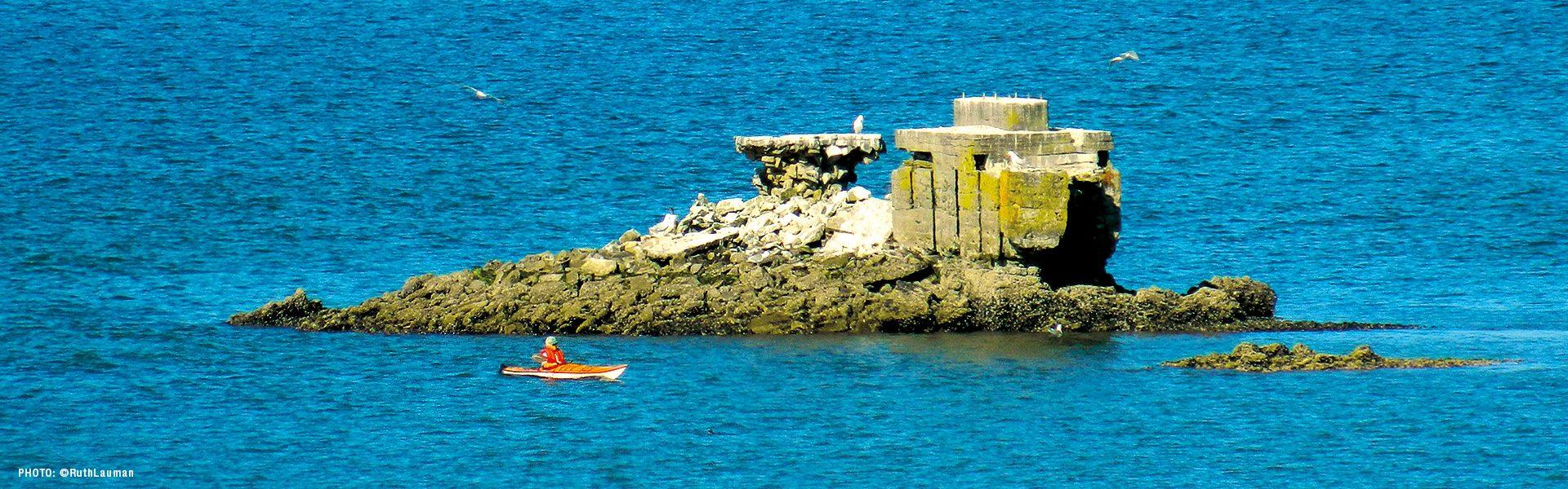 Kayaking Blaine's Drayton Harbor