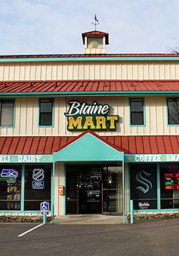 Blaine Mart in Downtown Blaine
